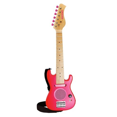 Bontempi Real Mini Electric Guitar Pink