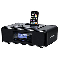 buy teac sr3dab desktop dab fm radio with cd player ipod dock black from our all clock radio. Black Bedroom Furniture Sets. Home Design Ideas