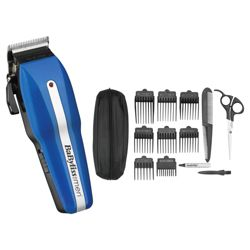 BaByliss For Men 7498CU Powerlight Pro 15 Piece Professional Home Haircutting Kit
