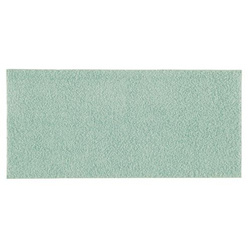 Tesco Rugs Shaggy Rug 60X110Cm, Duck Egg