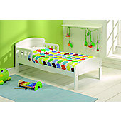 East Coast Country Toddler Bed White