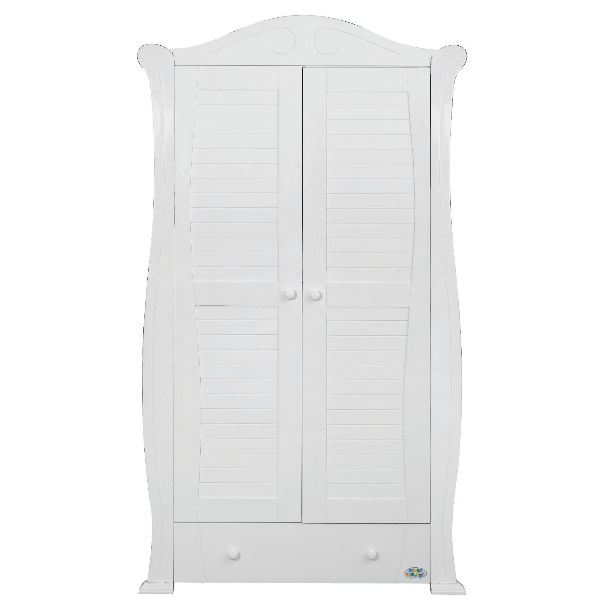 Tutti Bambini Marie Wardrobe, White at Tesco Direct