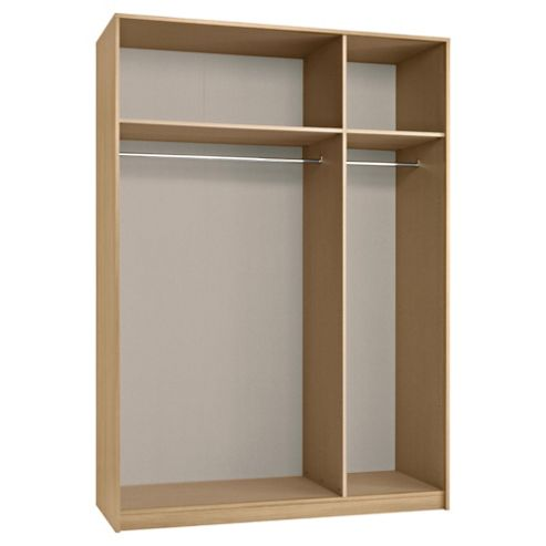 Modular Triple Wardrobe Frame, Oak-Effect