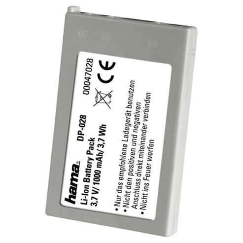 Hama LI-Ion Battery DP 028 suitable for Nikon (Equivalent to Nikon EN-EL-5 battery)