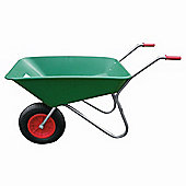 Threeway Bull Barrow Picador Plastic Wheelbarrow - Green