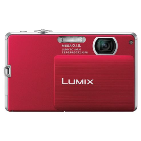 Panasonic FP3 Digital Camera Red 14MP 4x Optical Zoom 3