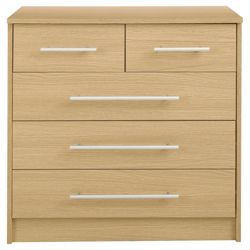 Kendal 5 Drawer Chest, Oak-Effect