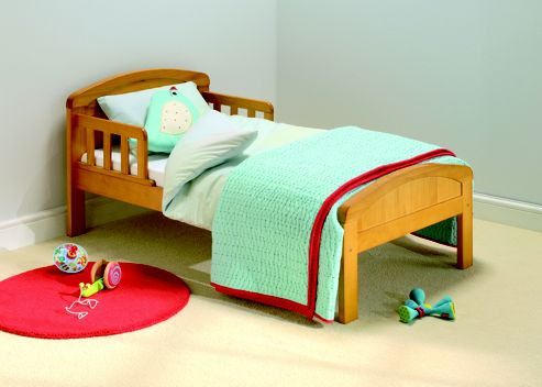 East Coast Country Toddler Bed, Natural- DUPLICATE