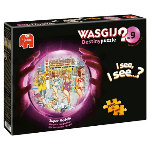 Jumbo Games Wasgij Destiny 9 Super Models 1000 Piece Jigsaw Puzzle
