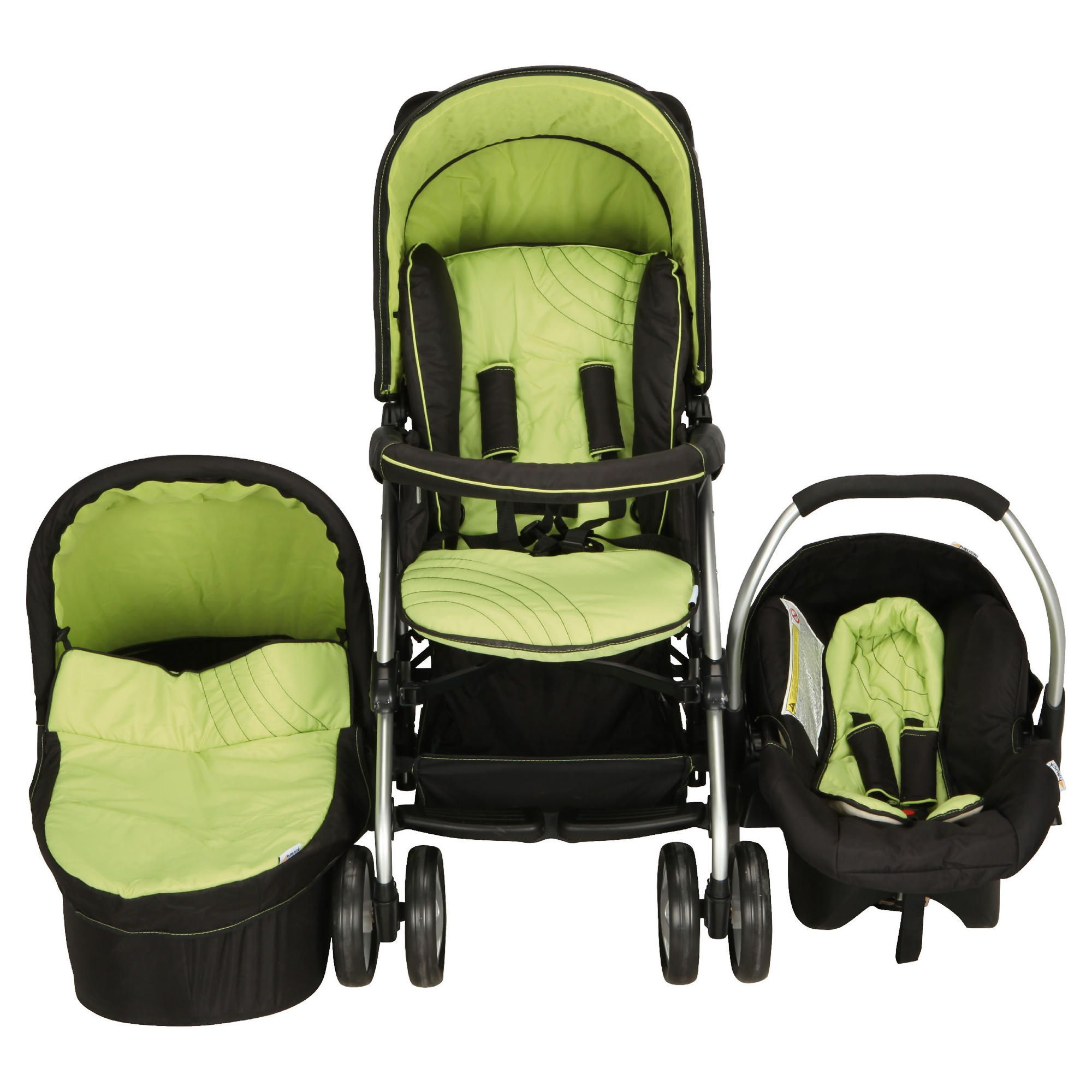 Hauck Condor Trioset Pushchair Travel System, Lime at Tescos Direct