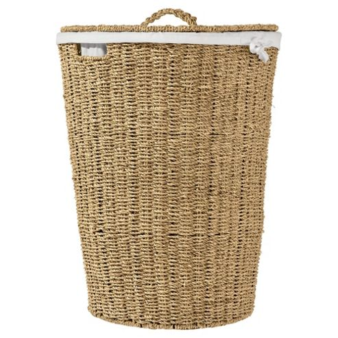 Tesco Seagrass Laundry Basket