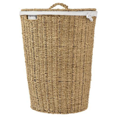 Tesco Seagrass Laundry Basket