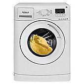 Whirlpool AWOE9760 Washing Machine, 9kg Wash Load, 1400 RPM Spin, A Energy Rating. White