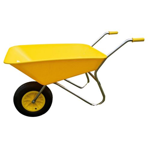 Bullbarrow Picador Plastic Wheelbarrow - Yellow