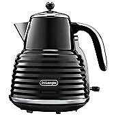 Delonghi Scultura Jug Kettle, 1.5L -  Black