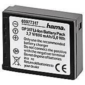 Hama DP317 (Panasonic Lumix DMC-TZ1) Rechargeable Camera Battery