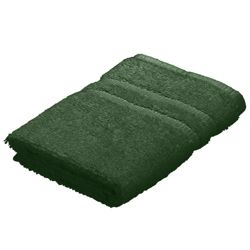 Tesco Face Cloth Towel Forest Green