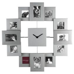 Presenttime Family Time Wall Clock