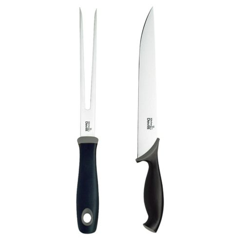 Buy kitchen devils control carving knife set from our for Kitchen devil knife set 9