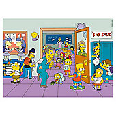 The Simpsons Springfield Elementary 500-Piece Jigsaw Puzzle