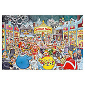 Jumbo Games Wasgij Christmas 6 A Verry Merry Christmas 1000 Piece Jigsaw Puzzle