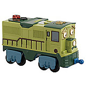 Chuggington Dunbar Interactive Engine With Flat Bed