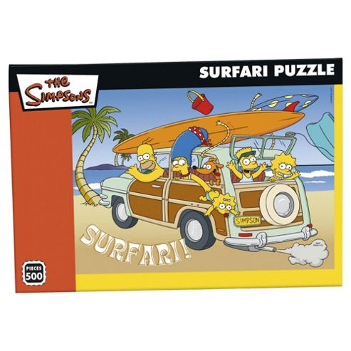 Simpsons Sufari 500 piece puzzle