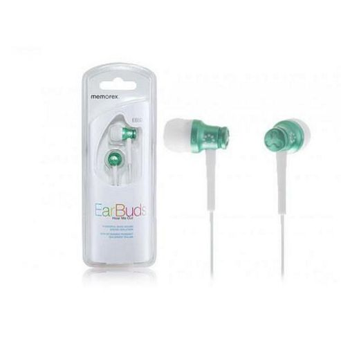 Memorex EB50 Headphones (Metallic Green)