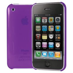 Cygnett Jewel Clear Hard Case for iPhone 3G and 3GS Purple