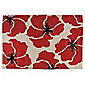 Tesco Rugs Poppy Rug 120x170cm Red
