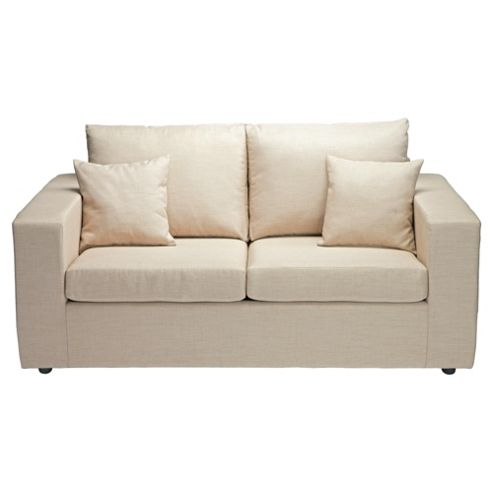Maison Small Fabric Sofa Linen