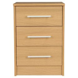 Kendal Bedside Chest, Oak-Effect