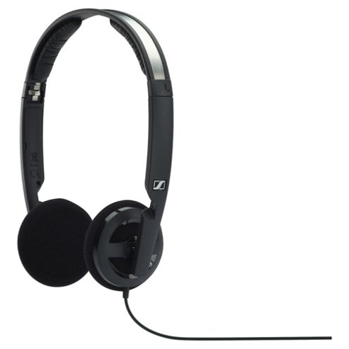 Sennheiser PX 100-II Foldable Open Mini Headphone Black