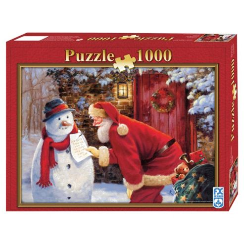 FX Schmid Christmas Jigsaw Puzzle 100O Piece