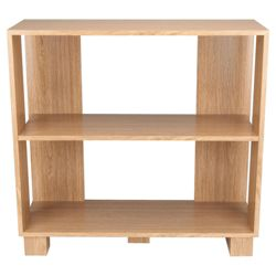 Nico 3 Shelf Bookcase, Oak-effect