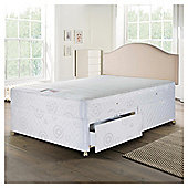 Airsprung Mercury Trizone Double Non-Storage Divan Bed
