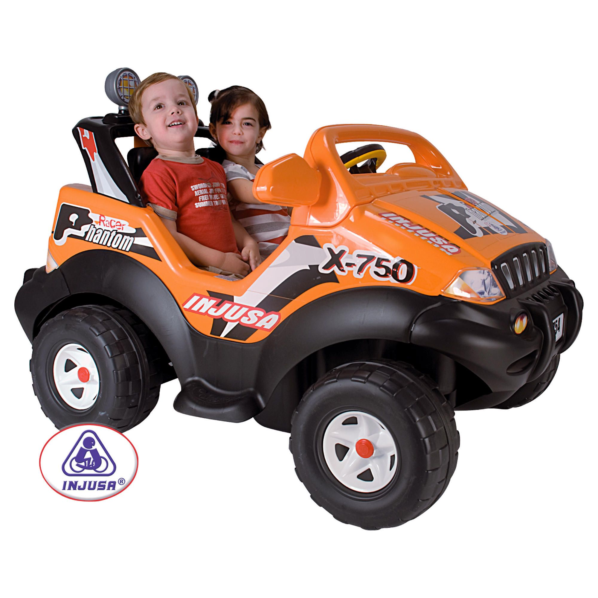 Injusa Phantom Racer 12V 2-Seater Ride-On Jeep at Tesco Direct