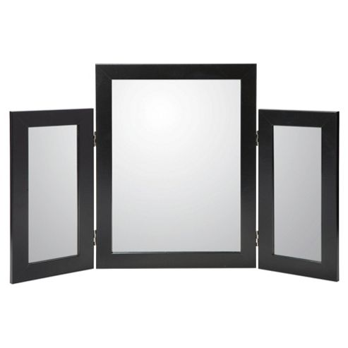 Basic Desk Mirror - Black