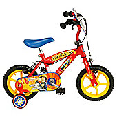 "Fireman Sam 12"" Kids' Bike - Boys with stabilisers"