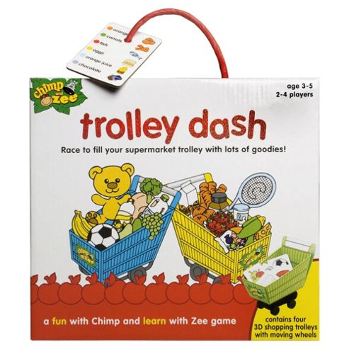 Chimp and Zee Trolly Dash game