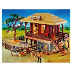 Playmobil Wildlife Care Station