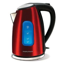 Morphy Richards 43832 1.7 litre Red Metallic Jug Kettle