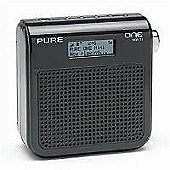 Pure One Mini Portable DAB Radio (Black)