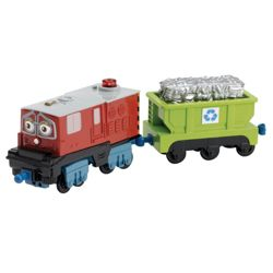 Chuggington Interactive UK Irving & Recycling Train Engine