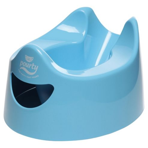 Pourty Easy-to-Pour Potty Blue