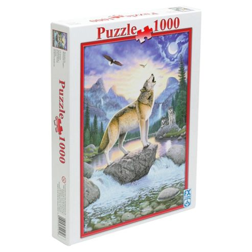 FX Schmid Night Of The Wolf 1000 Piece Jigsaw Puzzle