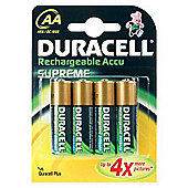 Duracell 15036491 AA Rechargeable Battery 2450 mAh NiMH