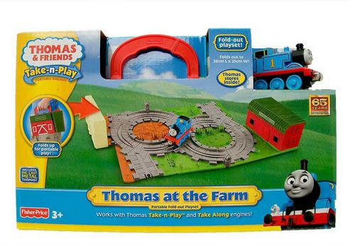 Thomas & Friends Take-n-Play Thomas at the Farm Playset