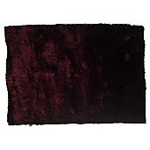 Tesco Rugs Luxurious Shaggy 120X170Cm Plum