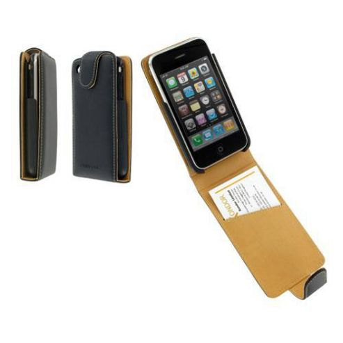 Pro Tec PEI3GBK Executive Leather Case for iPhone 3GS